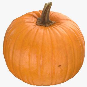 jack o lantern pumpkin 3D model