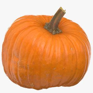 3D jack o latern pumpkin