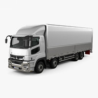 Mitsubishi Fuso Super Great Box Truck 4-axle 2019