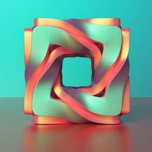 cube twiste 3D