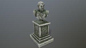 3D marcus aurelius