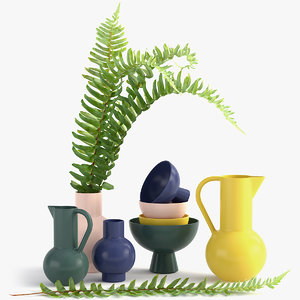 3D raawii vase model