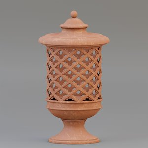 3D lantern designed model