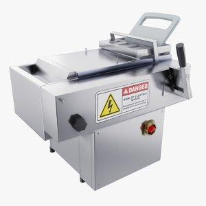 pasta press 3D model