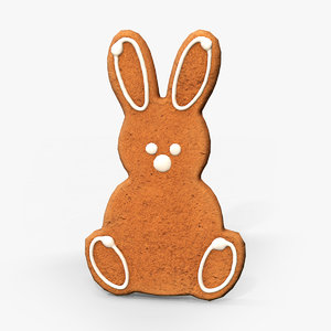 3D easter cookie