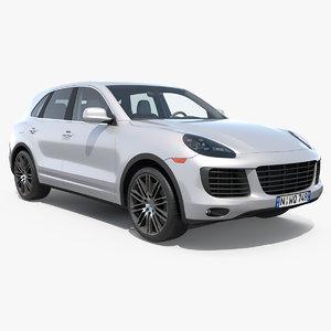 3D luxury crossover model