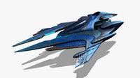 Modular Alien Fighter