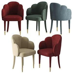 3D model venere chair