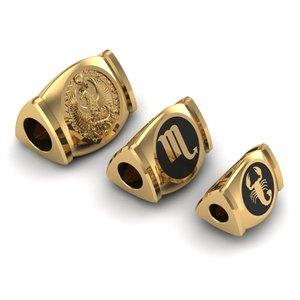 charm jewelry bracelets 3D