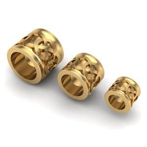 3D charm jewelry bracelets