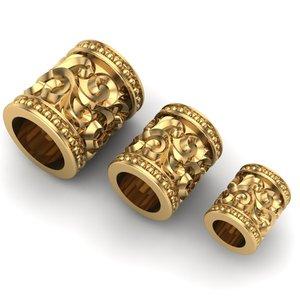 3D model charm jewelry bracelets