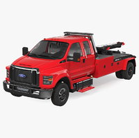 Ford F650 Supercab with Jerr-Dan HPL60 Wrecker 2019 Rigged