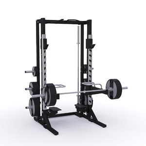 power rack simulator 3D model