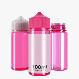 bottle 100ml type6 3D model