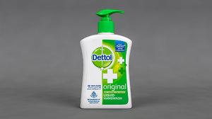 3D dettol liquid hand wash