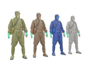 pandemic pack 3D model