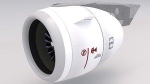 airbus engine cfm 3D model