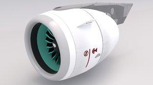 3D neo jet engine