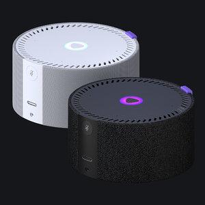 3D smart yandex station mini model