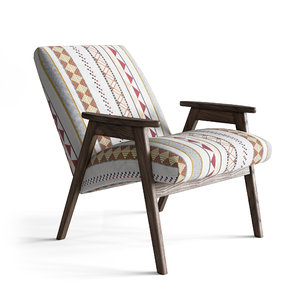 3D handcrafted armchair