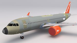 easyjet a320 3D