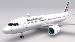 air france a320 3D model