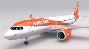 easyjet a320 3D model