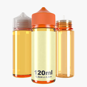bottle 120ml type3 3D model