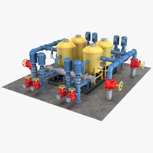 industrial element 5 3D model
