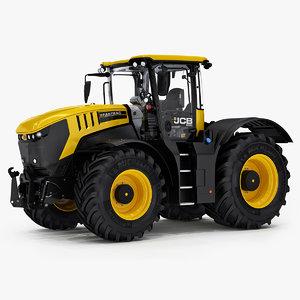 3D fastrac 8330 farm tractor model