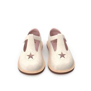 childrens shoes 3D model