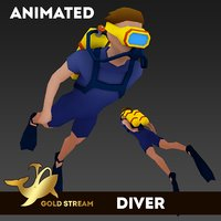 Diver (anim)