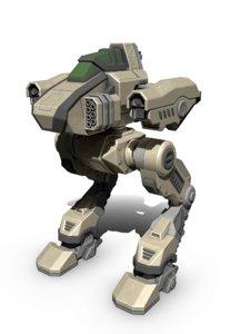 battle mech ferret model