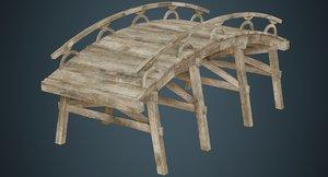 plank bridge 1a 3D model
