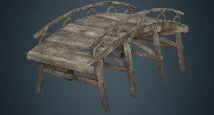 plank bridge 1b 3D model