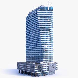 skyscraper building 04 3D model