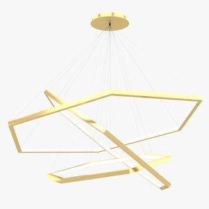 ceiling light fixture 001 3D model