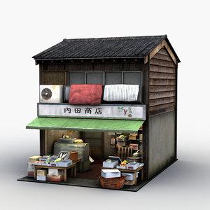 store 3d model