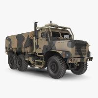 Medium Tactical Vehicle with Tent Sand Camo