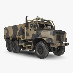 medium tactical vehicle tent 3D model