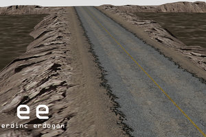 pro road terrain pack 3d model