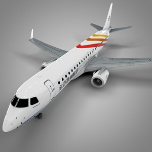 colorful guizhou embraer190 l607 model