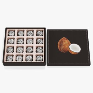 chocolate box candies model
