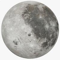 Photorealistic Moon 50K