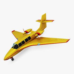 3D generic amphibious aircraft 1