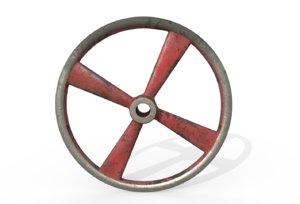 hand wheel 3D model