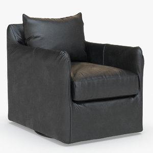 banks swivel chair 3D