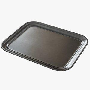 3D pbr tray