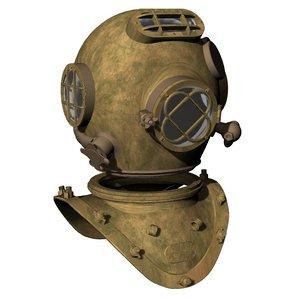 standard diving helmet model