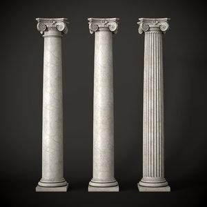 ionic column model